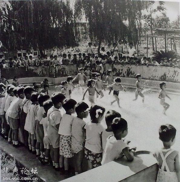 1961•安徽合肥 幼儿水上活动