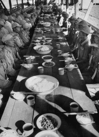 1953年11月:临撤前国军的最后一餐饭