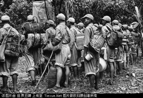 1953年11月:国民党士兵撤离缅甸