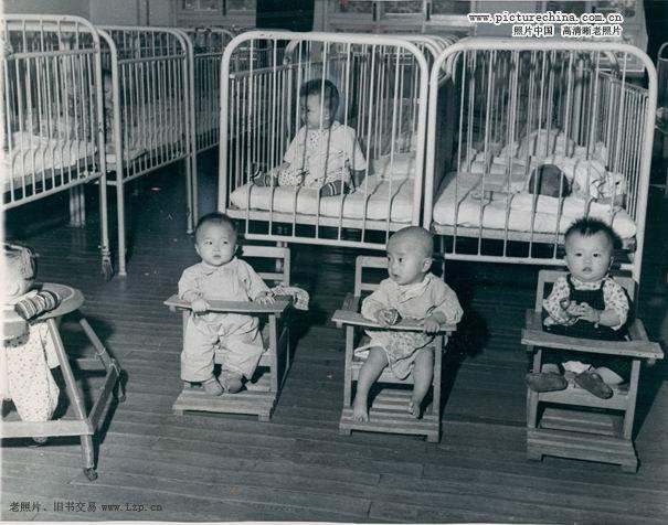 北京纺织厂幼儿园 1958