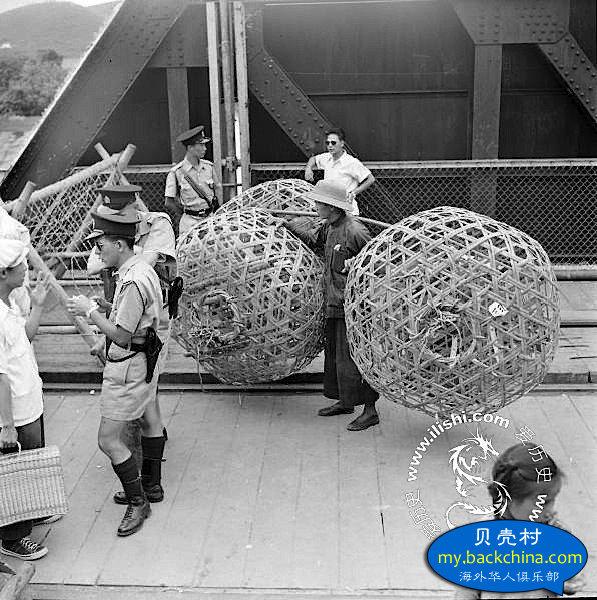 1951年的罗湖关~铁路桥 5