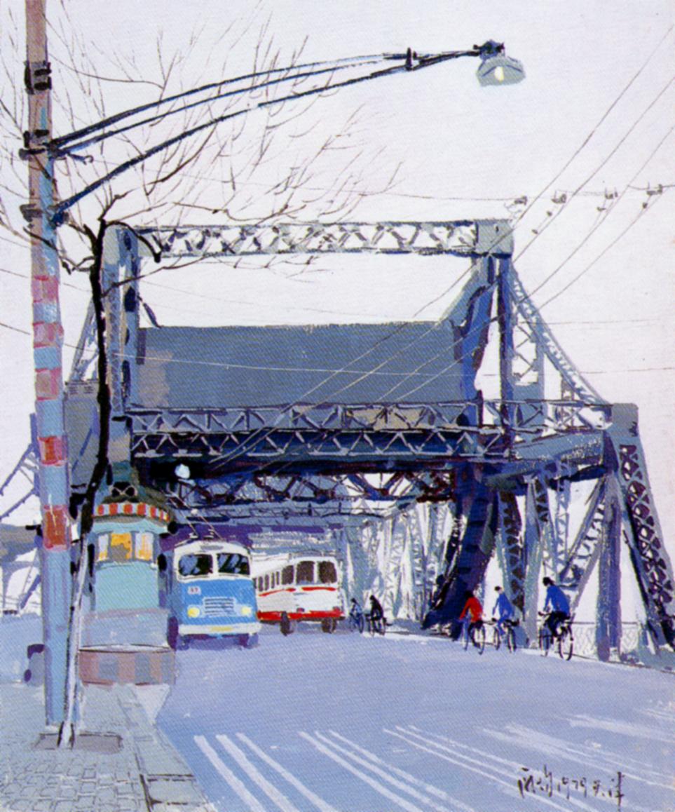 庞均 桥头 1979年
