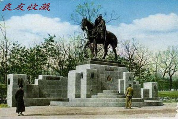 新京儿玉公园的儿玉源太郎铜像(1938)