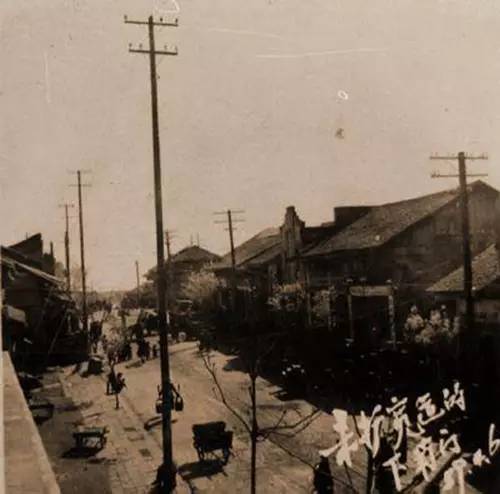 streets of Changde in 50s 2