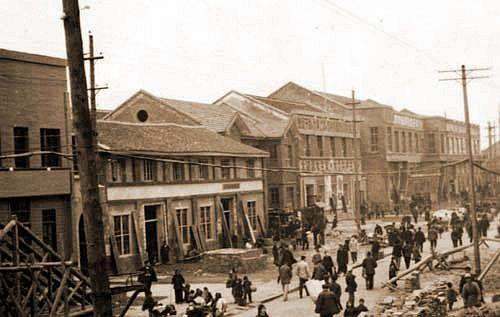 streets of Changde in 50s